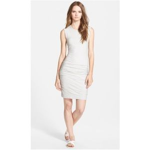 JAMES PERSE Skinny Sleeveless Muscle T Shirt Dress